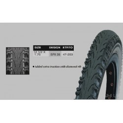 Dutch Perfect 12 1/2 *1.75 Tyres