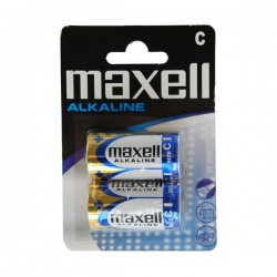 Maxell R14 Battery (pr) carded